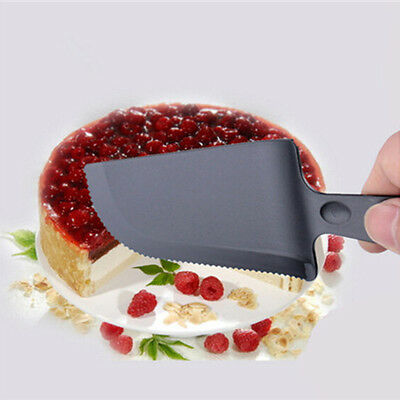 New Cake Server Pie Cutter Bread Slicer Plastic Knife Wedding Party Kitchen Tool