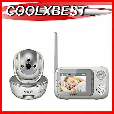 Free Postage- New Vtech Bm3500 Pan Tilt Zoom Audio Video Baby Monitor Talk Back