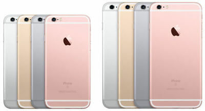 Apple iPhone 6S/6/4S 16/64/128GB Factory Unlocked Gold/Silver/Grey/Pink A+++