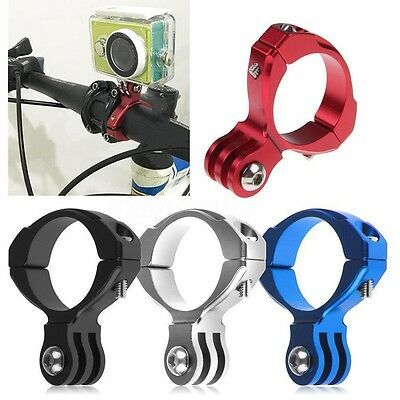 Bike Bicycle Accessorie Handlebar Seatpost Mount Clamp Clip Camera For Gopro