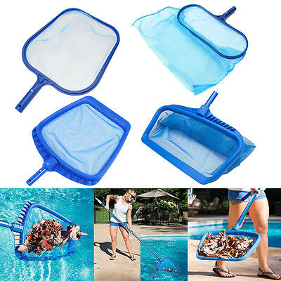 Essential Swimming Pool Leaf Skimmer Net Spa Tool Koi Fish Pond Hot Tub Cleaning