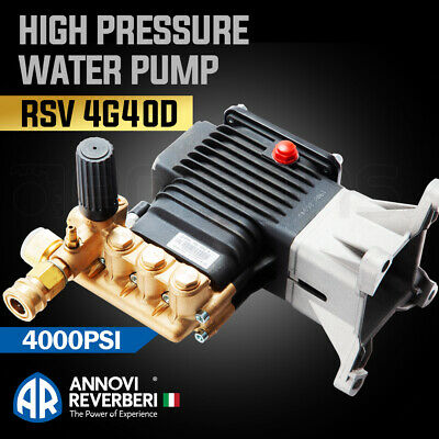 High Pressure Washer Pump 4000psi RSV4G40 AR Annovi Revereri suits most 9-13 HP