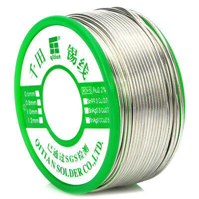 Silver Sn 99.3% + Cu 0.7% Super Lead-free Solder Tin Wire For soldering