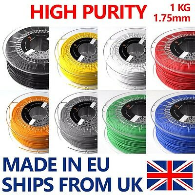 3D Printer Filament ABS / PLA 1.75mm 1Kg Spool HIGH Purity made by Philament™