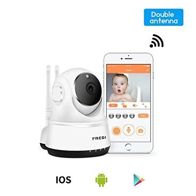 Wireless Camera Baby Monitor WiFi Security Video Remote Safety Night Vision New