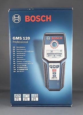 bosch gms 120 professional multi detector new sealed warranty cables wood metal. Black Bedroom Furniture Sets. Home Design Ideas