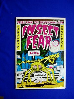 Insect Fear 1 underground comic. 1st (only) printing. rare, .