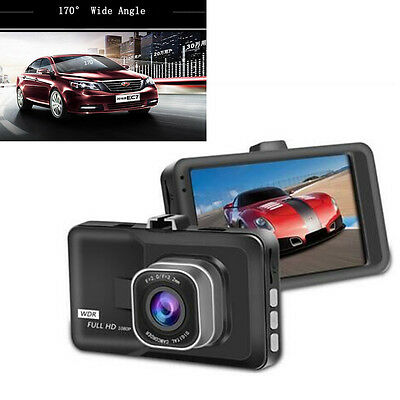 "3""Full HD LCD 1080P Car DVR Camera Video Recorder G-sensor Dash Cam Night Vision"