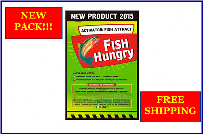 LOT! BEST PRICE! FISH HUNGRY Bait Activator Fish Attract Fishing BEST EFFECT