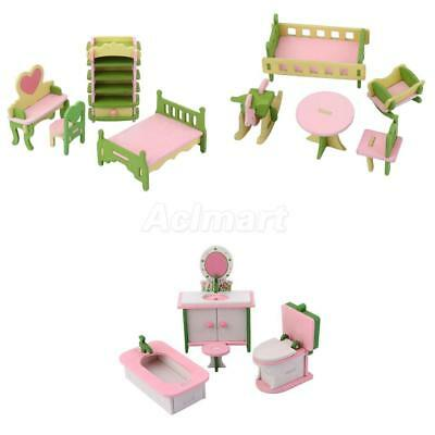 Vintage Minature Wooden Dolls House Furniture Melb Aud Picclick Au