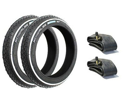 Phil and Teds Sport Tyre And Tube Set (HS140) Puncture Protected x 2 - FREEPOST