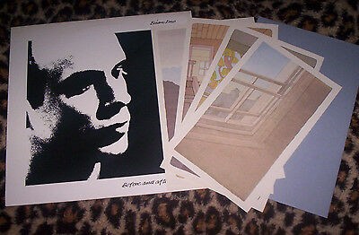 ENO ~ BEFORE AND AFTER SCIENCE. 1st press 1977 UK LP with ltd ed. prints. NM.