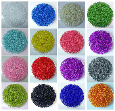 Strand Bead Jewelry Fitting Glass Seed Spacer Beads 2MM 3MM 4MM Diameter Size