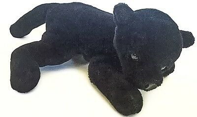 Vtg Black Jaguar Panther Plush Stuffed Animal Toy 1994 Giant Star Rare