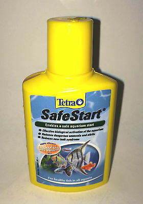 Tetra Safe Start 100Ml Live Bacteria Culture Tropical Aquarium Filter Fish Tank