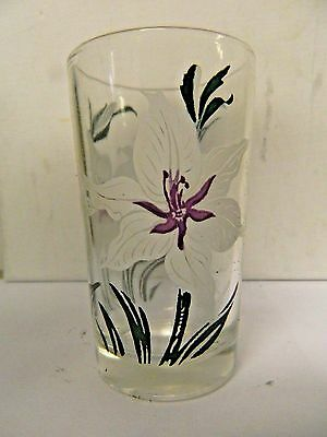Boscul Peanut Butter Juice Glass Sweet Scented Gladiolus  3 3/4 ""