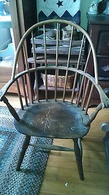 18th century sack back windsor chair