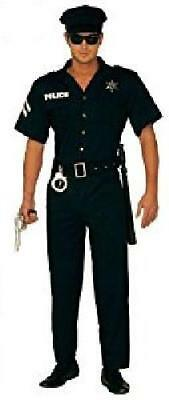 """Mens Cop Costume Extra Large UK 46"""" for Police Policeman Fancy Dress"""