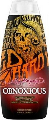 Brand New  Ed Hardy OBNOXIOUS Tanning lotion   free shipping
