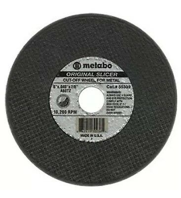 "Metabo 655339000 Slicer Cut Off Wheel 6"" X .040"", Box of 50"