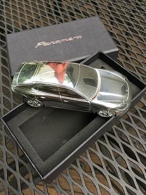 2017 Porsche Panamera Aluminum Paperweight / Model 1:43 NEW
