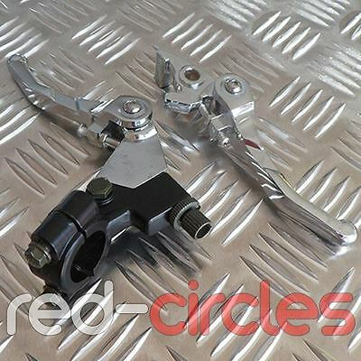Cromo Plegable Pit Bike Embrague & Maneta de Freno Set 140cc 150cc 160cc Pitbike