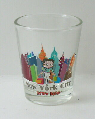 Betty Boop New York City Shopping Shot Glass