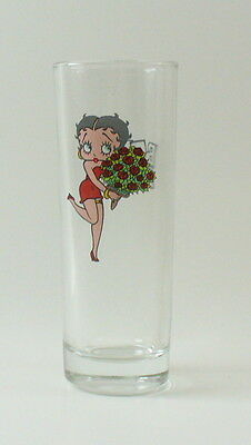 Betty Boop Flowers Shot Glass Tall Shooter