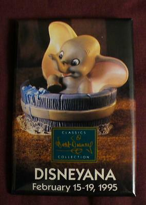 WDCC 1995 Disneyana Convention Dumbo Disney Button