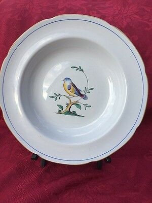 Set Of 2 Spode QUEEN'S BIRD Rimmed Soup Bowls