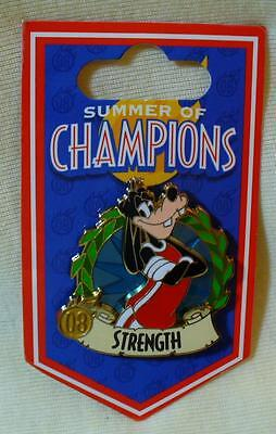 Disney Summer of Champions Goofy Strength Pin