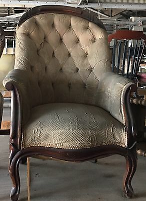 Late 1800 Parlor Chair