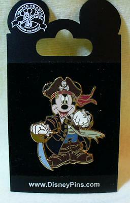 Disney Pirates of the Caribbean Pirate Mickey Mouse Pin
