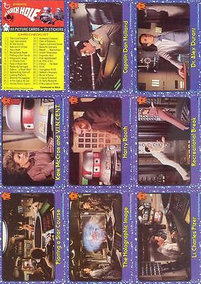 The Black Hole - Movie - Complete Card Set (1-88) 1979 Topps @ Near Mint