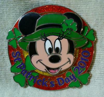Disney St Patrick's Day 2010 Minnie Mouse LE Pin