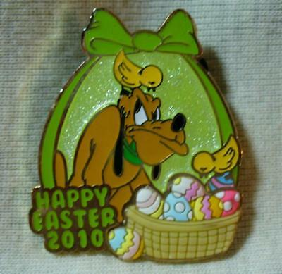 Disney Happy Easter 2010 Pluto LE Pin