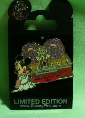 Walt Disney World Minnie Mouse Independence Day 2006 LE Pin