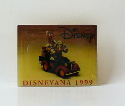 1999 Disneyana Convention Mickey Mouse Goofy Donald Duck Pin