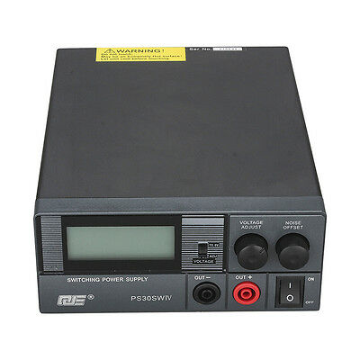 QJE-PS30SWIV 13.8Volt 30 Amp Switching Power Supply For Radio Base Station Wagon