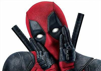 Deadpool Poster Movie Marvel Superhero  Large Quality FREE P+P, CHOOSE YOUR SIZE