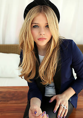 Chloe Grace Moretz Poster, Cool Movie Star, Hit Girl, FREE P+P, CHOOSE YOUR SIZE