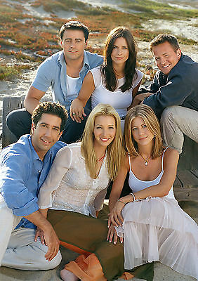 Friends Poster Hit TV Comedy Joey Rachel Ross and All FREE P+P, CHOOSE YOUR SIZE