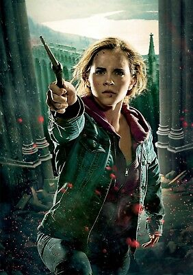 Harry Potter Poster Emma Watson Hermione Granger New, FREE P+P, CHOOSE YOUR SIZE