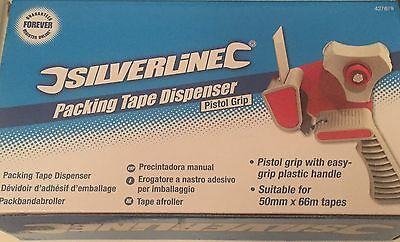 Silverline Packing Tape Dispenser Pistol Grip by Silverline For Moving Packing