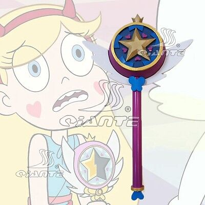 Star vs. the Forces of Evil Princess Magic Wand Cosplay Stick Hand Cos Prop New