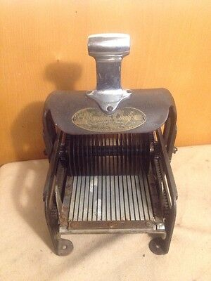 Vintage Wander Chet Cube Steak Machine 8x11 Inch