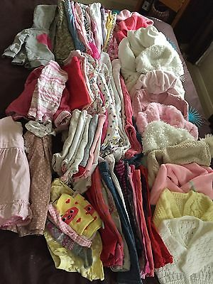 Girls Clothing Massive Bundle 6-9 Months +80 Items!