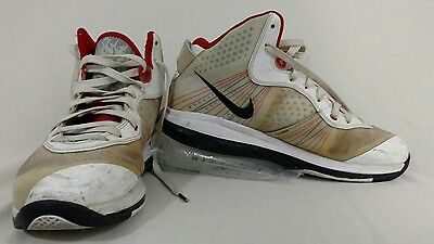 super popular f34fc fd3b7 ... Sport Red Miami Heat Elite 429676  Nike Lebron 8 V 2 Home Size 11 White  Red James Basketball Shoes High 429676 ...