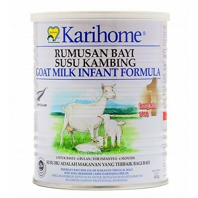 Karihome Infant Formula 400g Step 1 (Goats Milk for Baby 0-6 months)