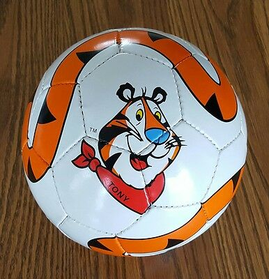 """""""Tony The Tiger"""" Kellogg's SOCCER BALL - Frosted Flakes Cereal PROMO!"""